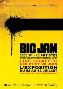 Big Jam Graffiti à Nancy du 27 juin au 12 juillet