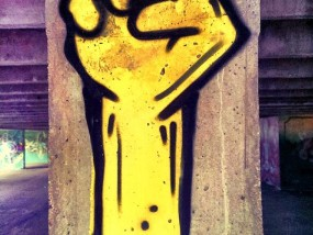 Dead Hand Hyperactivity Street Art Nancy