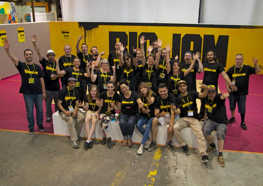 L'équipe des organisateurs bénévoles de la Big Jam