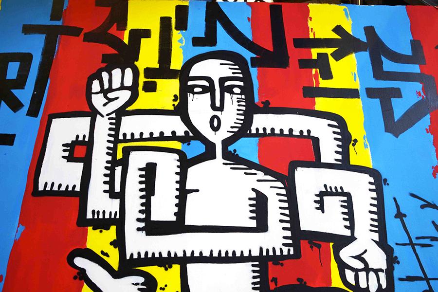 long arms icon big jam nancy graffiti hyperactivity