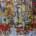 Diptyque réalisé lors de l'exposition d'art contemporain organisée par Actimetal à Saint-Dié des Vosges (88) du 2 au 4 octobre 2015