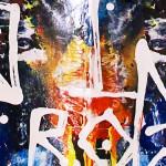 Brainwashing, peinture abstraite et expérimentale par Hyperactivity