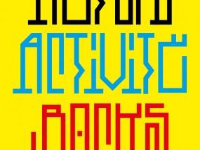 Travail typographique inspiré par le style calligraphique pratiqué par les artistes graffiti brésiliens appelé Pixação (ou Pichação).