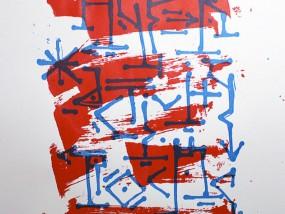 Quartieri Spagnoli, estampe réalisée en sérigraphie d'art par Hyperactivity