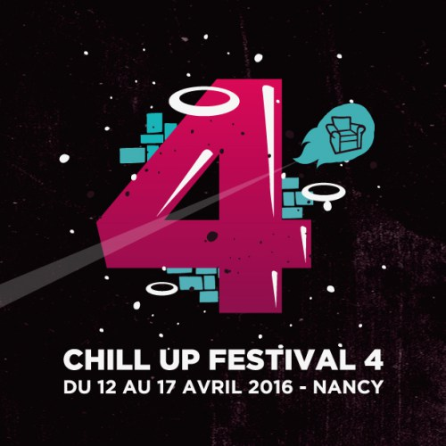 Performance graffiti live de Hyperactivity lors du Chill Up Festival le 17 avril 2016