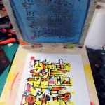 """""""Affreux, Sales et Méchants"""", impression artisanale de 15 estampes sérigraphiées en 4 couleurs, Hyperactivity Rocks"""