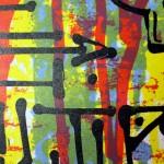 """""""We don't die, we multiply"""", impression artisanale de 15 estampes originales numérotées et signées, en sérigraphie 4 couleurs par Hyperactivity Rocks"""