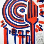 """""""1976"""" impression artisanale d'estampes en sérigraphie Hyperactivity Rocks, 2016"""