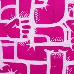"""Blue and Pink Velvet"", peinture par Hyperactivity Rocks en 2016"