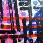 """Decadent Society"", sérigraphie artisanale d'estampes par Hyperactivity Rocks"