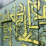 """""""Submarine"""", graffiti peint à Nancy par Hyperactivity Rocks le 2/7/2016"""