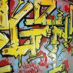"""""""Legends"""", peinture réalisée lors du mix de Dj Sneak à l'Embaracadère à Nancy"""