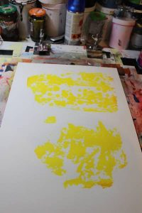 """""""Primitive"""", auto-édition de 10 estampes en sérigraphie artisanale et manuelle"""