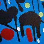 """""""Nero di Seppia"""", calligraphie expérimentale sur toile par Hyperactivity Rocks"""
