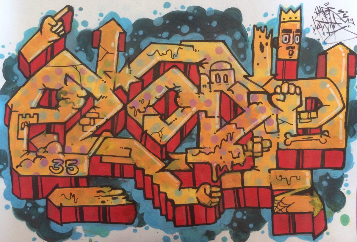 Sketch Graffiti