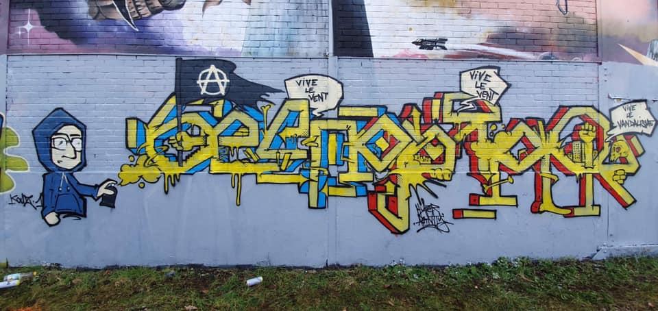 graffiti беспорядок par Hyperactivity