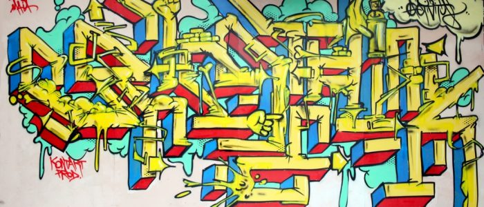 Graffiti Expérimental Crimethink 1984 Hyperactivity